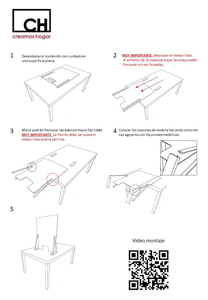Instrucciones montaje Antibac V1