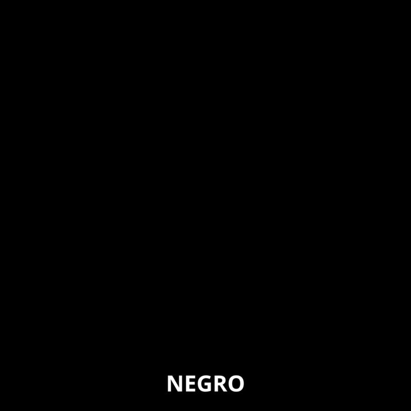Melamina Negro